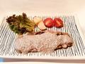 料理メニュー写真ロースソテー・マッシュルームソース