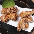 料理メニュー写真麦酒商店の 2 種の鶏唐揚げ
