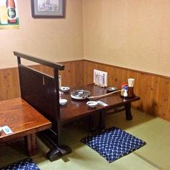 お座敷個室は2名様からご利用可能。