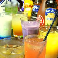 飲み放題アイテムは100種類以上ご用意しております♪