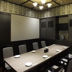 【8名様向け】テーブル席です。幹事様必見!大切な接待や会食・歓送迎会におすすめのお席です!