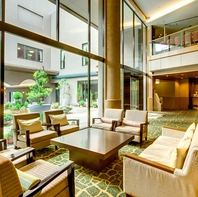 贅沢な空間が広がるホテル