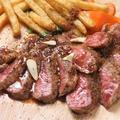 料理メニュー写真牛ステーキ