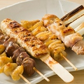 料理メニュー写真◆串盛り合わせ6種盛り合わせ