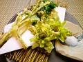 料理メニュー写真旬野菜の天ぷら