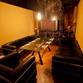 7名様用 ふかふかソファー個室。