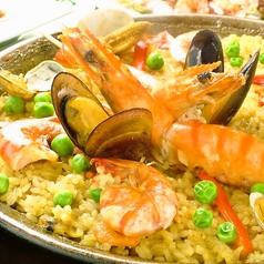 料理メニュー写真バレンシアパエリア Sサイズ