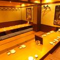 最大30名様までご利用可能な個室宴会空間ございます。各種宴会に。
