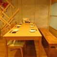 6人がけのテーブル席です♪