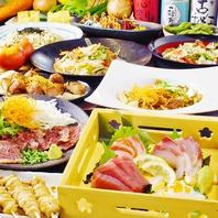 [梅田駅前]飲み放題付き宴会コースは6段階で用意