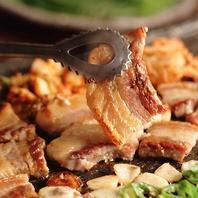 鶴橋の美味しいサムギョプサルを食べ放題でどうぞ!!