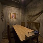 2~10名様までの個室が5部屋ございます。個室は最大15名様までご予約可能です。