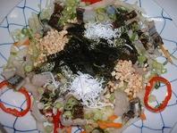脂が乗った上質鱧・淡路産を使用したコース料理です。