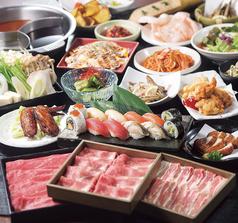 しゃぶしゃぶ カニ 天ぷら 巴 仙台西口店の雰囲気1