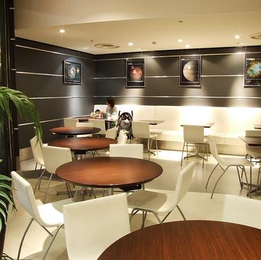 プロント PRONTO プラネタリウム スターリー カフェ 羽田空港国際線ターミナルの雰囲気1