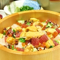 料理メニュー写真海鮮ウニひつまぶし・上