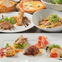 宴会するならBicchiere!コース料理3500円~4500円。