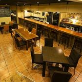 <店内貸切>個室やソファー以外のテーブル席は最大80席。立食時なら100名までパーティーにご対応!成田×貸切なら是非YOCHIBALをご利用ください♪