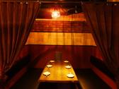 2名~6名席でデートや同伴にもピッタリ♪落ち着いた内装とこだわりの空間でヒソヒソと語り合えますよ!