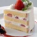 料理メニュー写真イチゴのショートケーキ