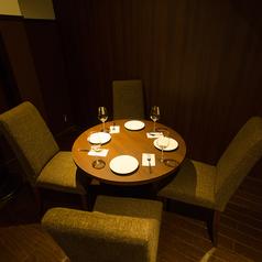 【4名様~6名様用 個室スペース】 御接待などにもご利用いただける、個室スペースです★