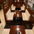 10~20名様でご利用できるテーブル席♪歓送迎会、ご宴会、打ち上げの際にぜひ!宴会コースもご用意しております◎
