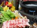 料理メニュー写真イベリコ豚のしゃぶしゃぶ