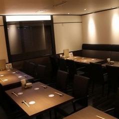 宴会利用にもピッタリな広々個室テーブル席です。