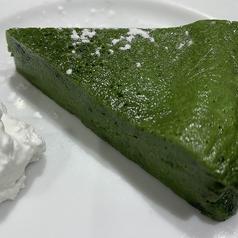 料理メニュー写真吉田銘茶園の抹茶使用 濃厚抹茶のガトーショコラ