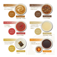 選べる6種のお出汁ラインナップから3つ選んで食べ比べ♪