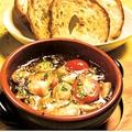 料理メニュー写真海老と魚介のアヒージョ