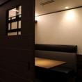 合コンや宴会などにもご利用いただける個室も用意しております。