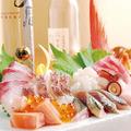 料理メニュー写真朝締め鮮魚のお刺身盛り合わせ
