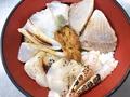料理メニュー写真あぶり海鮮丼(A)