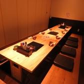 完全個室で最大12名様まで収容可能。