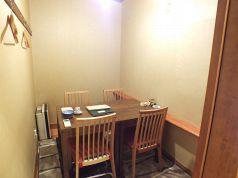 4名様のテーブル個室