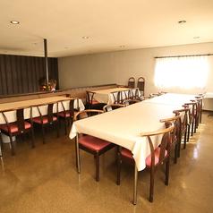 3Fテーブル席
