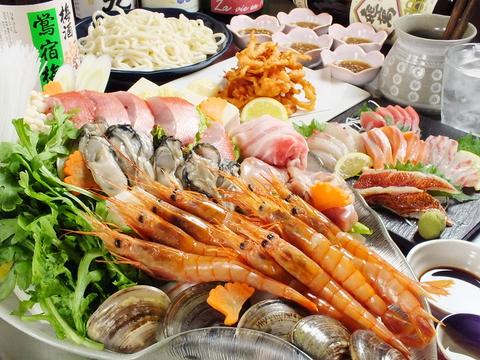 中央卸売市場より直送の新鮮な魚介が自慢♪西九条駅より1分◎USJや大阪観光の帰りにも