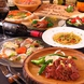 厳選食材を見た目も鮮やかな調理法で提供。女子会にも◎