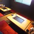 10名様収容可能なお座敷個室を1室ご用意しました。