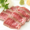 料理メニュー写真特選国産牛のタタキ