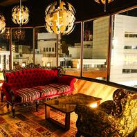 名古屋の街並みを覗ける夜景個室