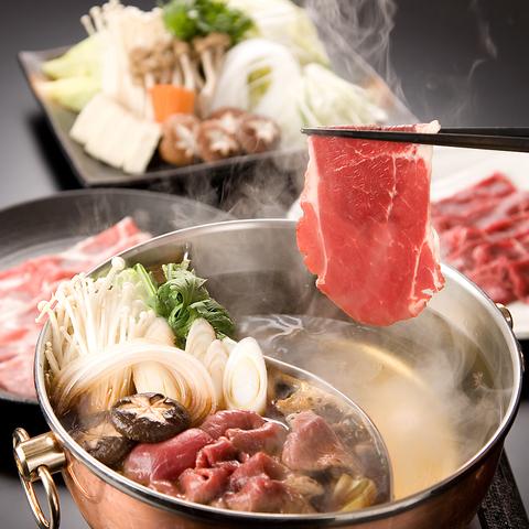 新宿3丁目駅より徒歩1分!!「しゃぶしゃぶ」と「すき焼き」が食べ放題のレストラン♪