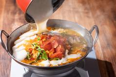 フレッシュトマトのクワトロチーズ鍋 ~濃厚チーズインパクト~