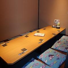 8名様掛け個室16名様までの御利用可能となります。