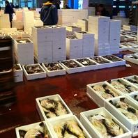札幌駅北口から徒歩30秒、当店自慢の海雪〆鮮魚!