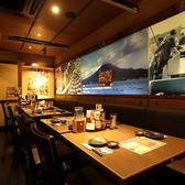 九州人情酒場 魚星 八重洲中央口店の雰囲気2