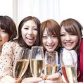 立川での女子会に大人気☆今なら3時間飲み放題付き全6品3,980円⇒2,980円でご提供中♪