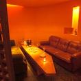自分達だけの空間を楽しむには個室が一番!!