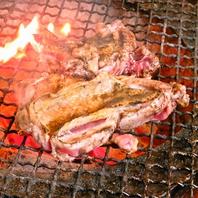 さつま地鶏を丸ごと一枚を炭火で豪快に焼き上げた逸品◎